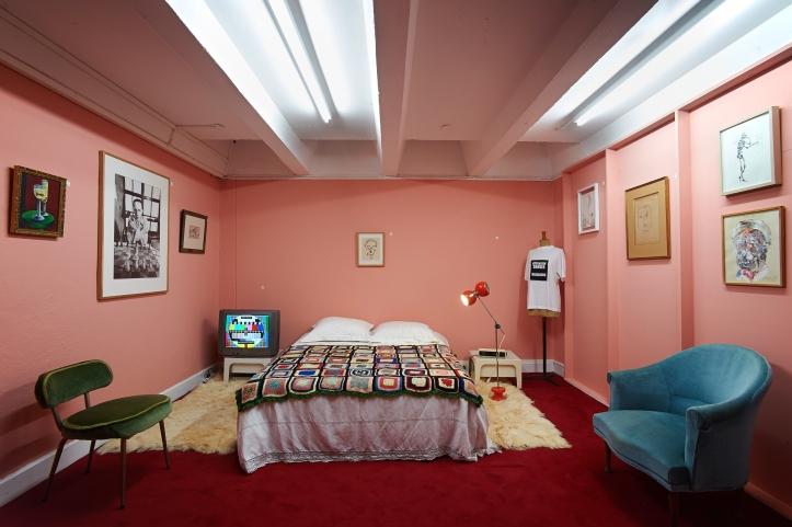 Sandra D. Lecocq et Noël Dolla,  L'appartement du joyeux bordel, 2013 Photo François Fernandez