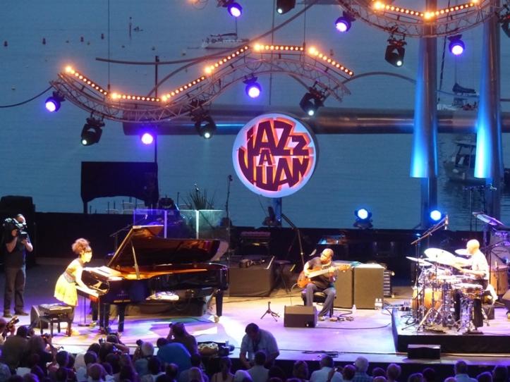 Hiromi à Jazz à Juan en 2013