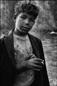 Enfant des rues à Santiago