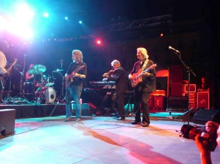 Mike Stern, Lockwood et McLaughlin au festival de Jazz de Nice en 2013