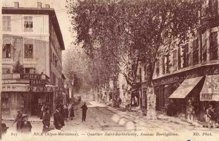 Le Boulevard Borriglione