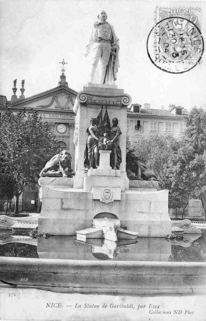 La place Garibaldi en 1904