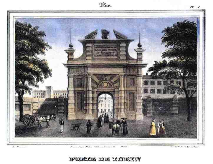 La porte de Turin