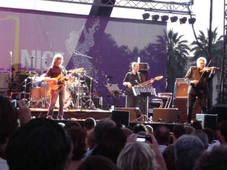 Stern lockwood au festival de Jazz de Nice en 2013