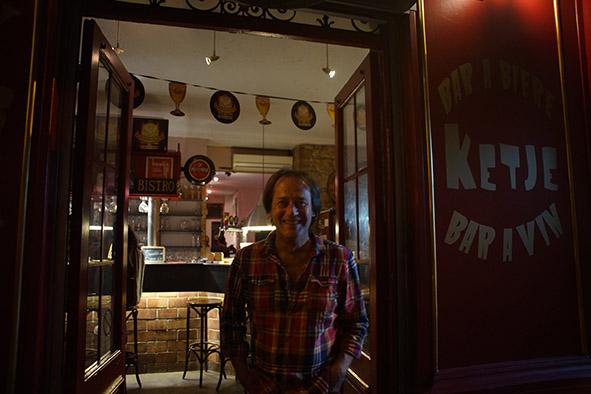 Thierry, dit «Titi», le patron du Ketj.