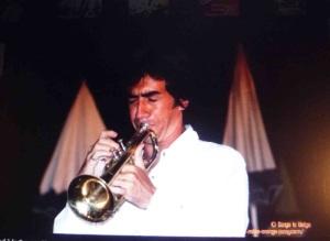 Fred à la trompette