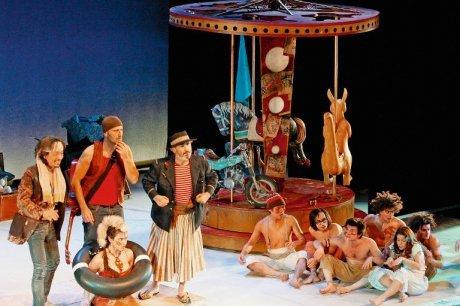 «Pan», mis en scène par Irina Brook