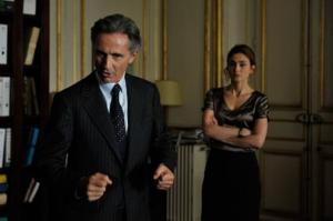 Thierry Lhermitte et Julie Gayet
