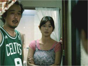Le  couple d'épiciers  (  Lily Franky  et Yoko  Maki )