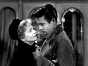 Joan Fontaine  et Louis  Jourdan dans  Lettre d'une inconnue  de Max  Ophüls