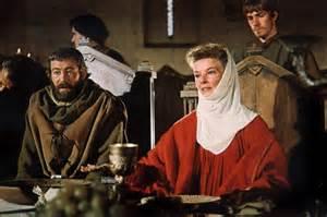Peter  o'Toole  et Katarine Hepburn dans  Un Lion en Hiver
