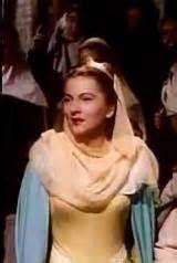 Joan Fontaine dans   Ivanhoe  de  Richard  Thorpe