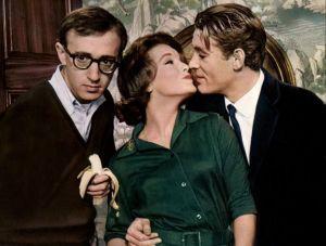 Woody Allen , Romy Schneider  et Peter  O'Toole dans  Qoui de neuf Pussycat ?