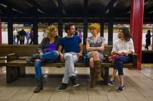 Xavie en compagnie des  trois femmes de sa  vie :  Cécile de France , Kelly Reiley  et Audrey Tautou