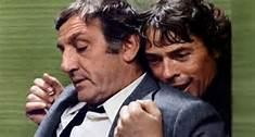 Lino  Ventura et Jacques  Brel  dans  L'Emmerdeur