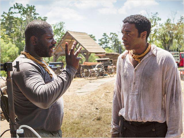 Le réalisateur Steve McQueen et Chiwetel Ejiofor