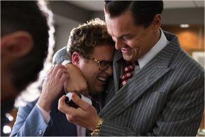 Jonah Hill (  Donnie )  et Leonardo Di Caprio .