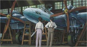 Les  avions de  combat  à l'usine de  construction