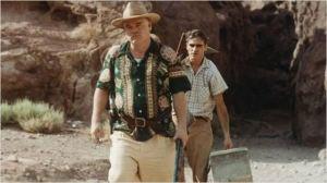 Philip Seymour Hoffman et Joaquim Phoenix  dans  The  Master   de  paul Thomas  Anderson