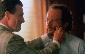 Robert de  Niro  et  Billy Crystal dans  Mafia  Blues