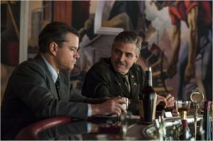 Matt Damon  et George  Clooney