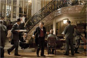 Le  hall de l'Hôtel Parisien transformé en Q.G  Allemand