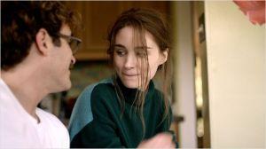 Joaquin Phoenix  et  Rooney Mara  (  son ex )