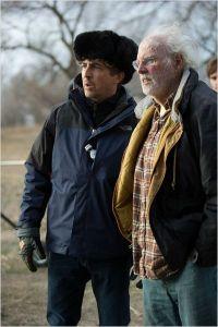 Alexander  Payne  et Bruce  Derne  lors  du  tournage du  Film.