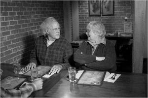 Bruce  dern ( Woody) et June  Squibb ( Kate, Sa  femme )