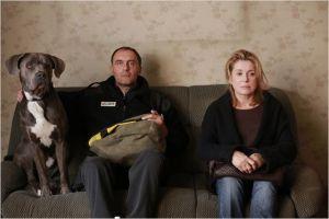 Lev (  Oleg Kupchik)  et son chien . Catherine Deneuve