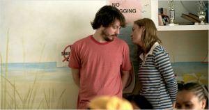 John Gallagher Jr  et Brie  Larson , les  deux  éducateurs de  térrain