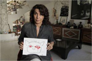 la  Caricaturiste  Tunisienne  Nadia  Khiari