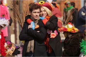 Clément et  Jennifer   au Carnaval  d'Arras