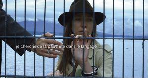 Une  scène de  ADIEU  AU  LANAGE  de  Jean- Luc  Godard