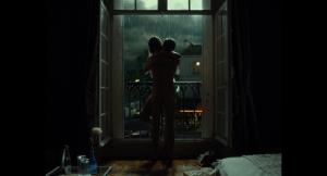 Une  scène de  LA CHAMBRE  BLEUE  de  Mathieu  Amalric