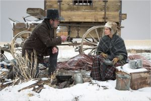 Une  scène  de  HOMESMAN  de  Tommy  Lee  Jones