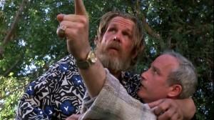 Nick Nolte  et Richard  Dreyfus  dans  Le  Clochard de  Beverly  Hills  de  Paul Mazursky