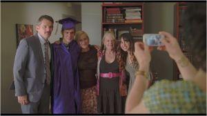 Mason ,  ses  dix  hit ans et  son diplôme   fêté  en famille ....