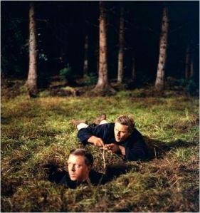 Richard  Attenborough  et  Steve  Mac Queen  dans  La  Grande  evasion de  John Sturges