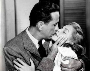 Bogart / Bacall  dans  Les  Passagers de  la Nuit