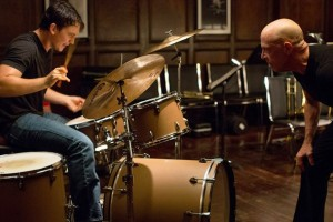Miles Teller et  J.K Simmons  dans  Whiplash de   Damien Chazelle