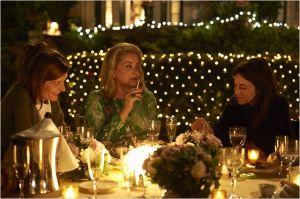 Catherine Deneuve entourée de  Chiara Mastroianni  et Charlotte  Gainsbourg