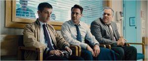 Les  trois frères réunis : Jérémy Strong, Robert Downey Jr  et Vincent  d'Onofrio