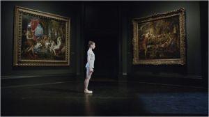Peinture  et danse  associées.  Danse devant  deux tableaux du  Titiien,   inspirés par  la poésie .
