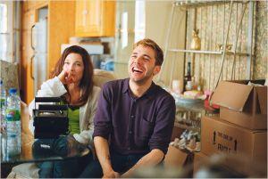 Anne Dorval et Xavier  Dolan sur le plateau  de  tournage
