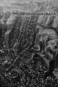 Les  travailleurs des mines d'or