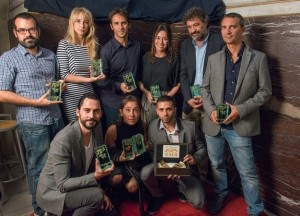 Les  Laureats de   Cinespana  (  Photo