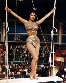Gina Lollobridgida dans Trapeze de Carol Reed