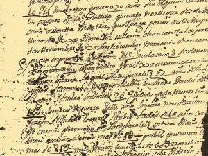 Extrait de  la lettre  à  Philippe II