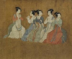 Le dîner de Han Xizai de la dynastie des Tang